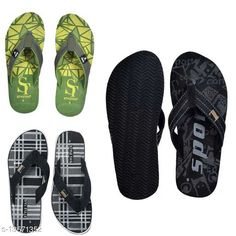 Flip Flops Style Tag Combo of 3 Mens's Casual Slipper Material: Synthetic Multipack: 3 Sizes:  IND-7, IND-6, IND-10, IND-9, IND-8 Country of Origin: India Sizes Available: IND-6, IND-7, IND-8, IND-9, IND-10, IND-11   Catalog Rating: ★4.1 (1485)  Catalog Name: Modern Fabulous Men Flip Flops CatalogID_2668342 C67-SC1239 Code: 493-13571352-468