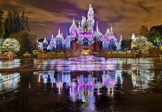 Sleeping Beauty Castle - Winter at Disneyland!