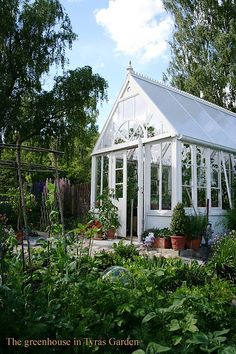 greenhouse ~ This one looks about perfect for me!