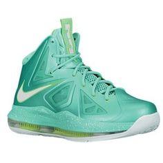 9cd1b6831aa Nike Air Max Lebron X 43564303 Crystal Mint Poision Green Fiberglass