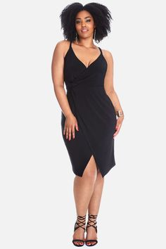 Plus Size Kellie Wrap Dress