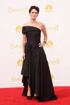 Lena Headey at the 66th Annual Emmy Awards // #Emmys #redcarpet #Emmys2014