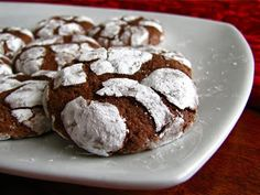 Enjoy this chocolate crinkle cookie recipe. For more recipes visit www.top-chocolaterecipes.com