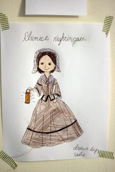Florence Nightingale Lamp Template | Free Florence Nightingale Notebooking Pages Historic Nurses