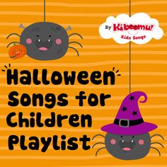 #Halloween songs for children is a wonderful way to help the kids get into the spooky spirit!  From witches to bats, from numbers 0-10 to basic subtraction and body parts, Halloween Songs for Children features simple songs that teach basic learning concepts with lots of movement.  #preschool #kindergarten #kidsongs