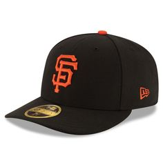 0875066fd5e San Francisco Giants New Era Authentic Collection On Field Low Profile Game  59FIFTY Fitted Hat - Black