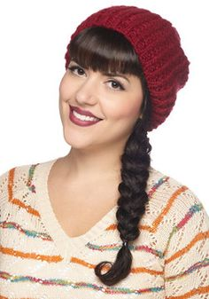 Beignet or Nay Hat in Cranberry, #ModCloth