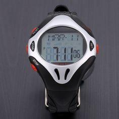 Fashion Men's Waterproof Sports Fitness Round Digital Wristwatch Watch #electronics #arduino #technology #smartrobot
