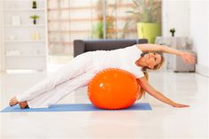 If you want to add some fun to your workout, try these affordable and effective fitness ball exercises for women. Fit S, Stay Fit, Fun Workouts, Fitness Tips, Exercises, Posts, Women, Beautiful, Exercise Ball