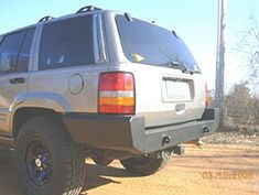 C4x4 Jeep Grand Cherokee ZJ Rear Bumper