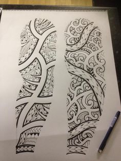 Another maori style design I sketched yesterday