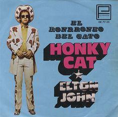 Elton John Honky Cat Mexican Single.