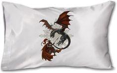 Kerem Beyit - Knight and Dragon Kendin Tasarla - Yastık 45 x 27 x 10 cm