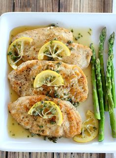 Chicken Piccata. Keep it simple and focus on bright, fresh flavors for a company worthy dish that is done in less than 30 minutes.