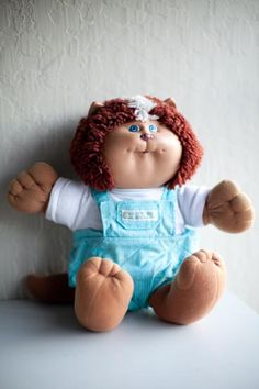 #koosa #80's #toy #vintage doll #overalls Photo by Portraits To The People. I still havecmine