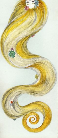 rapunzel.  http://variations.deviantart.com/art/Fishfaces-362344415   http://www.clarissapaiva.com/Constellations-zodiac