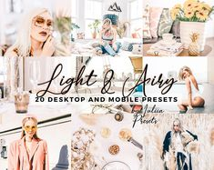 15 Desktop & Mobile Lightroom Preset Bundle Real Estate | Etsy