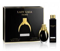 Lady Gaga Fame Black Fluid Eau De Parfum Gift Set 50ml