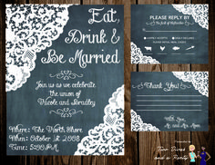 Wedding Invite created by Two Divas and a Party. Like us on Facebook or follow us on Twitter @TwoDivasParties. Email us at contact@2divasandaparty.com