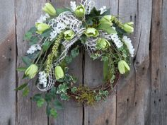 Spring Wreath, Summer Wreath, Cottage Wreath, Designer Wreath, Front Door Wreath on Etsy, $79.99