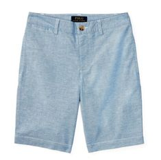 Polo by Ralph Lauren - Stretch Cotton Oxford Short - Blue - sizes:  2T, 3T & 4T