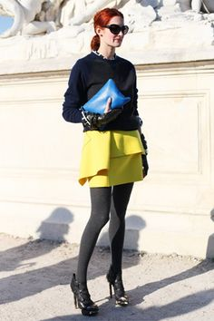 Taylor Tomasi Hill, Paris Fashion Week (Vogue.com UK)