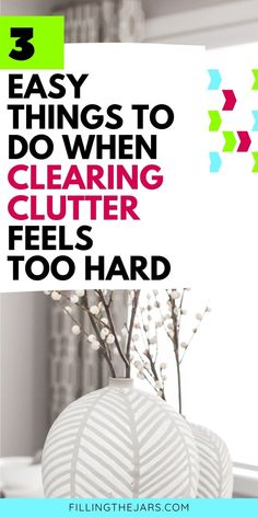 Too overwhelmed to start that decluttering project? I hear you! Here are 3 'pre-decluttering' steps you can take TODAY to start making progress. Decluttering mindset tips to get rid of the guilt and simple actions to get you started on the road to a clutter-free home. #declutter #organizing Tiny Steps, Organizing, Organization, Clutter Free Home, Deal Sites, The Thing Is, Staying Organized, Decluttering, Design Your Own