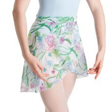 A0324FL – Bloch Floral Patterned Tulip Womens Wrap Skirt