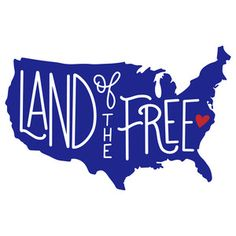 Silhouette Design Store - View Design #199351: land of the free