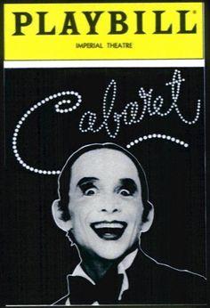 Joel Grey - Cabaret Playbill