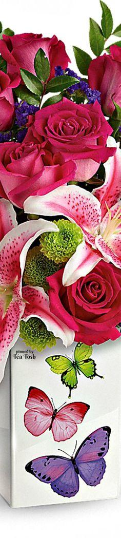 ❇Téa Tosh❇ Brilliant Butterflies Bouquet