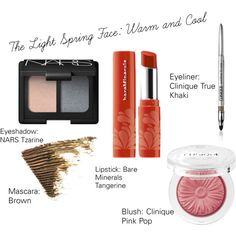 The Light Spring Face: Warm and Cool