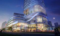 Raffles City, Shenzhen, China