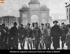 ENTRADA TROPAS NACIONALES EN MADRID