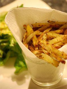 Rosemary French fries! Just like smash burger, mmmm <3