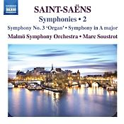 "John J. Puccio at Classical Candor reviews Saint-Saens: Symphony No. 3 ""Organ,"" with Marc Soustrot and the Malmo Symphony Orchestra on a Naxos CD."