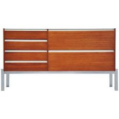 Kho Liang Ie and Wim Crouwel Credenza for Fristho, 1957