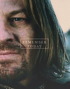 """Remember today, little brother."" 1/2 waaaah! Cry all the tears...the last time Boromir sees Faramir :'("