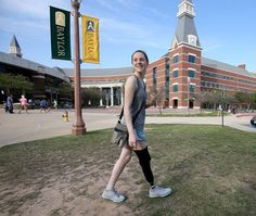 When she awoke, Megan Ritzi didn't remember the car crash that took her leg and the lives of two other #Baylor students. All the incoming freshman knew was that she wasn't going to let the amputation -- or the concussion, temporary coma, dislocated hip, torn knee tendons and broken bones -- stop her from rocking her first year at Baylor.