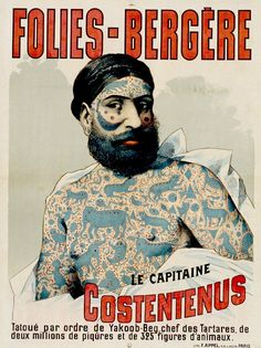 Artist Unknown - Folies-Bergère, Le Capitaine Costentenus, late 1800's-early 1900's