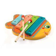 Djeco xylofon, fisk
