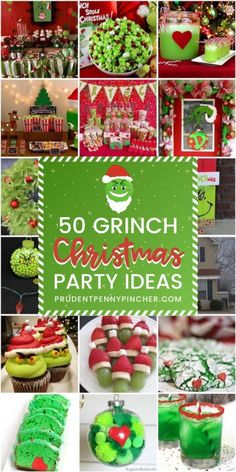 50 Best Grinch Christmas Party Ideas
