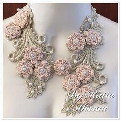 KÚZLO háčkovaním - Katia Missão: náhrdelník Anjel