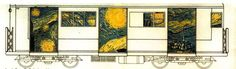 Subway Train Graffitti / Artist Research Project