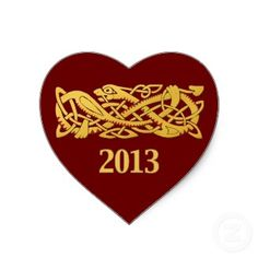 Chinese New Year - Year Of The Snake 2013 Sticker