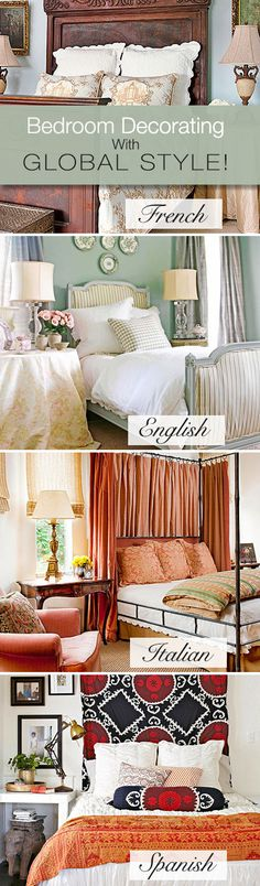 Brighten Up Your Bedroom with a Global Twist • Tips and Ideas!