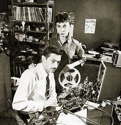 In 1955, husband-and-wife team Louis and Bebe Barron were hired by MGM to produce the first completely electronic score for a commercial film. The film, Forbidden Planet, credited the couple for their 'electronic tonalities' and not electronic music, to avoid a lawsuit by the American Federation of Musicians. #ForbiddenPlanet #SciFi #Soundtrack
