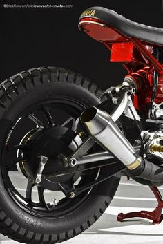"Yamaha XV750 Virago Cafe Racer   ""GoGo"" - Grease n Gasoline"