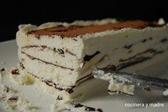 comtessa-o-viennetta-casera  Tarta helada de nata y chocolate Ice cream and chocolate cake