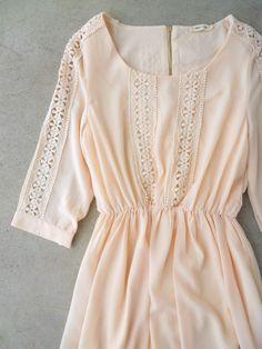 Crochet Lace Billings Dress #bohemian